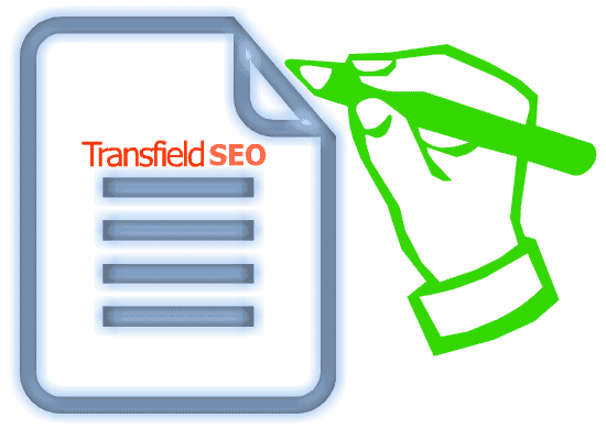 transfield SEO content writing